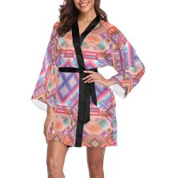 Researcher Long Sleeve Kimono Robe