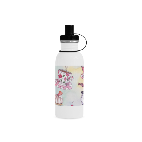 Coffee and sweeets Manchester Sports Bottle(22OZ)