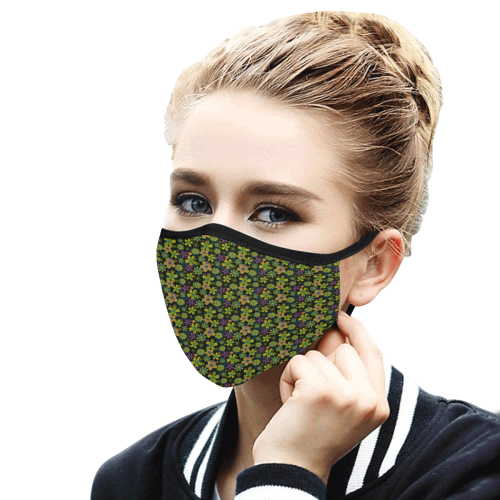 52lf Mouth Mask in One Piece (2 Filters Included) (Model M02) (Non-medical Products)