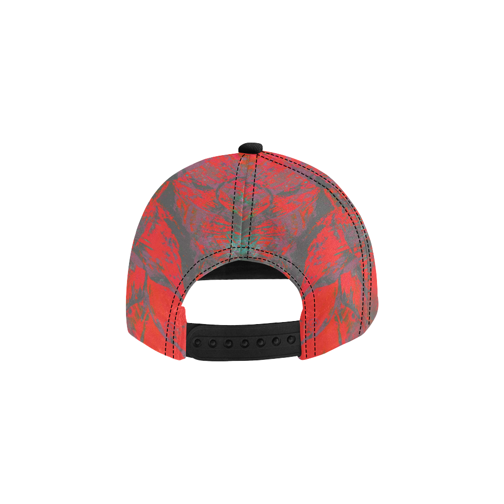 wheelVibe_vibe39 All Over Print Snapback Hat D