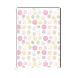 """Colorful Cupcakes Blanket 58""""x80"""""""