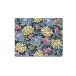 """Gorgeous Vintage Floral Design Canvas Print 20""""x16"""""""