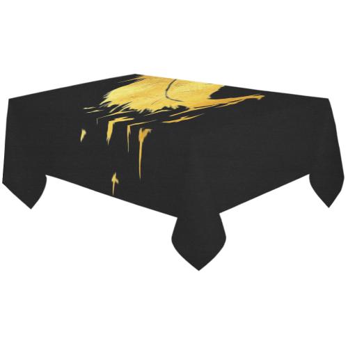 "leafy birds Cotton Linen Tablecloth 60""x120"""