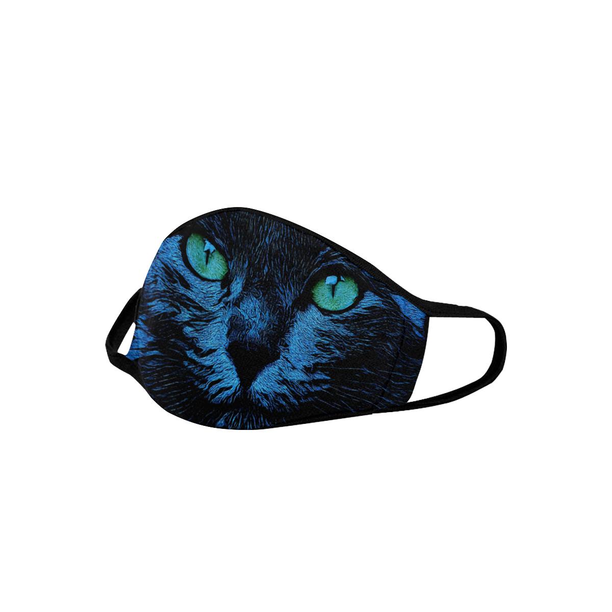 CAT BLUE ART MASK Mouth Mask