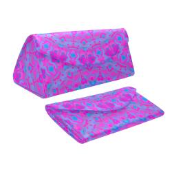 Vibrant Kaleidoscope Custom Foldable Glasses Case