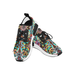 Graffiti-ojos-6 Men's Draco Running Shoes (Model 025)