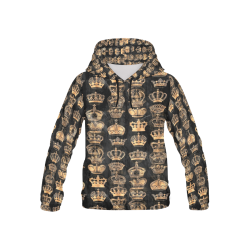 Royal Krone by Artdream All Over Print Hoodie for Kid (USA Size) (Model H13)