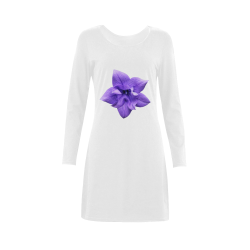 Balloon Flower Demeter Long Sleeve Nightdress (Model D03)