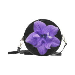 Balloon Flower Round Sling Bag (Model 1647)