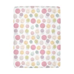 Colorful Cupcakes Ultra-Soft Micro Fleece Blanket 43''x56''