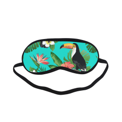 Tropical Summer Toucan Pattern Sleeping Mask