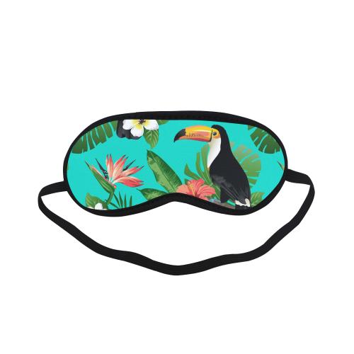 Tropical Summer Toucan Pattern Sleeping Mask