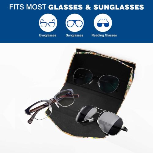 Michelle Custom Foldable Glasses Case