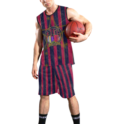 Atlanta New by Nico Bielow All Over Print Basketball Uniform