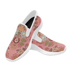 5e7d2d65f0e25 Orion Slip-on Women's Canvas Sneakers (Model 042)