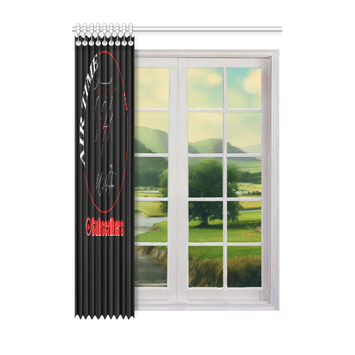 "Curtain design Window Curtain 52"" x 72""(One Piece)"