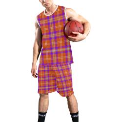 TARTAN PATTERN 73 All Over Print Basketball Uniform