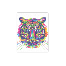 "Rainbow Tiger Blanket 40""x50"""