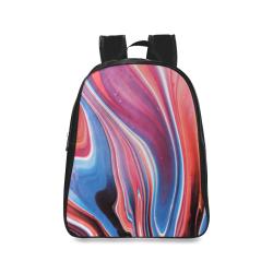oil_b School Backpack/Large (Model 1601)