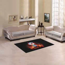 "Fear me Clown Area Rug 2'7""x 1'8''"