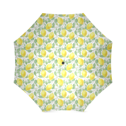Lemons And Butterfly Foldable Umbrella (Model U01)