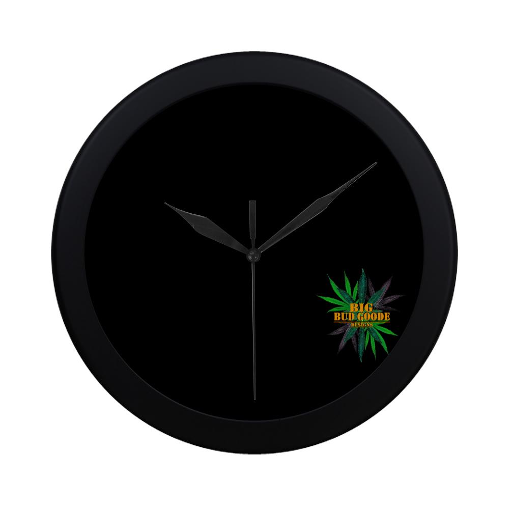 Big Bud Goode Designs clock Circular Plastic Wall clock