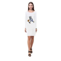 basketball dog Demeter Long Sleeve Nightdress (Model D03)