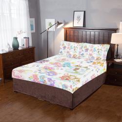 carebearsheetset 3-Piece Bedding Set