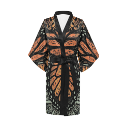 Monarch Collage Kimono Robe
