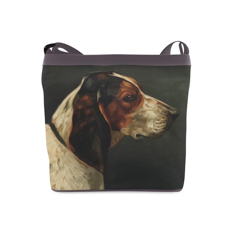 Vintage hound bag Crossbody Bags (Model 1613)