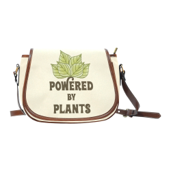 Powered by Plants (vegan) Saddle Bag/Large (Model 1649)