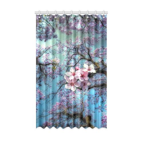 "Cherry blossomL Window Curtain 52"" x 84""(One Piece)"