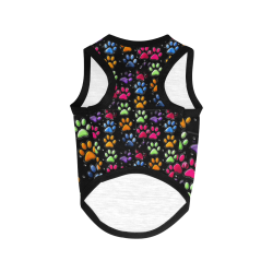 Paws by Nico Bielow All Over Print Pet Tank Top