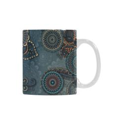 Mandalas White Mug(11OZ)