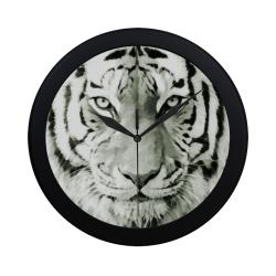 Eye of The Tiger. Circular Plastic Wall clock