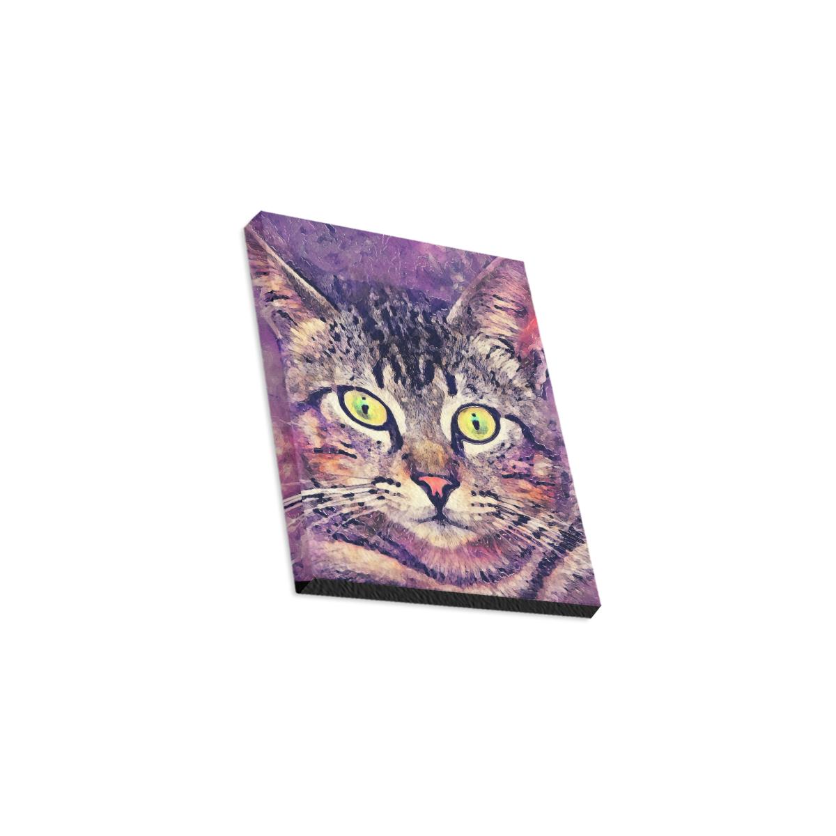 "cat Canvas Print 8""x10"""