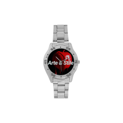 copy Men's Stainless Steel Analog Watch(Model 108)