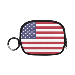 United States of America flag Coin Purse (Model 1605)