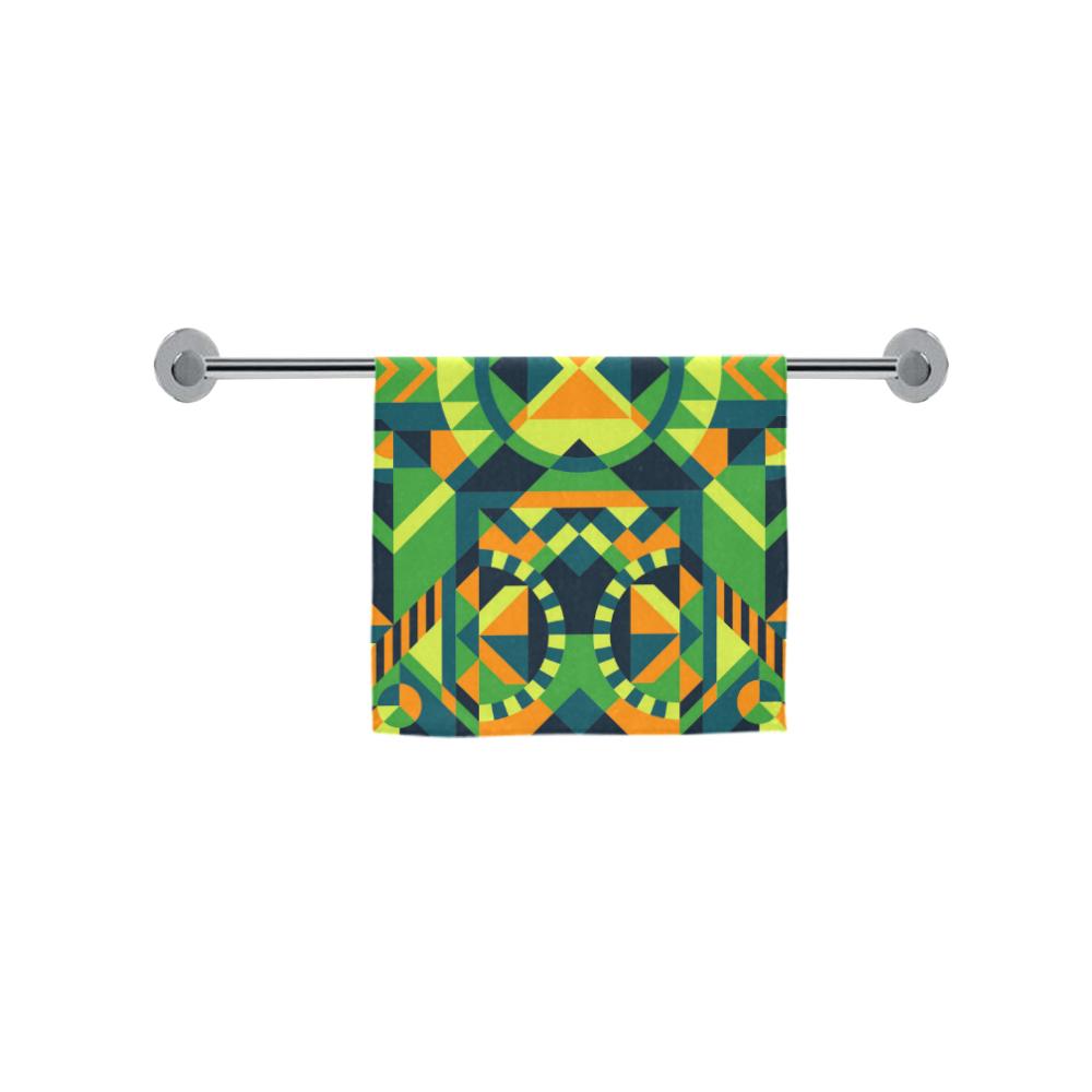 "Modern Geometric Pattern Custom Towel 16""x28"""
