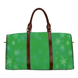 Green Pop Art by Nico Bielow Waterproof Travel Bag/Large (Model 1639)