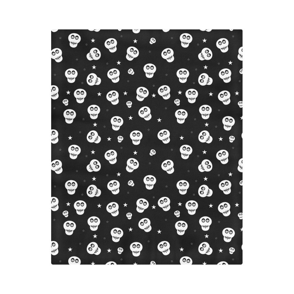 """Star Skulls Duvet Cover 86""""x70"""" ( All-over-print)"""