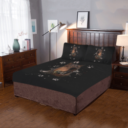 Shaman Totem Horse 3-Piece Bedding Set