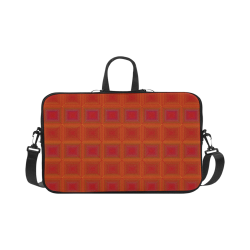 """Red orange golden multicolored multiple squares Macbook Pro 17"""""""