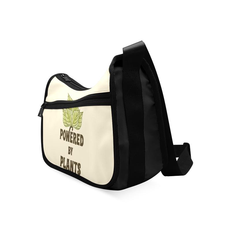 Powered by Plants (vegan) Crossbody Bags (Model 1616)
