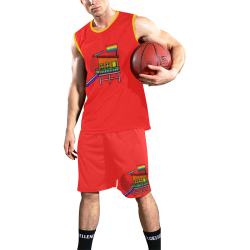 Gaywatch Pop Art by Nico Bielow All Over Print Basketball Uniform