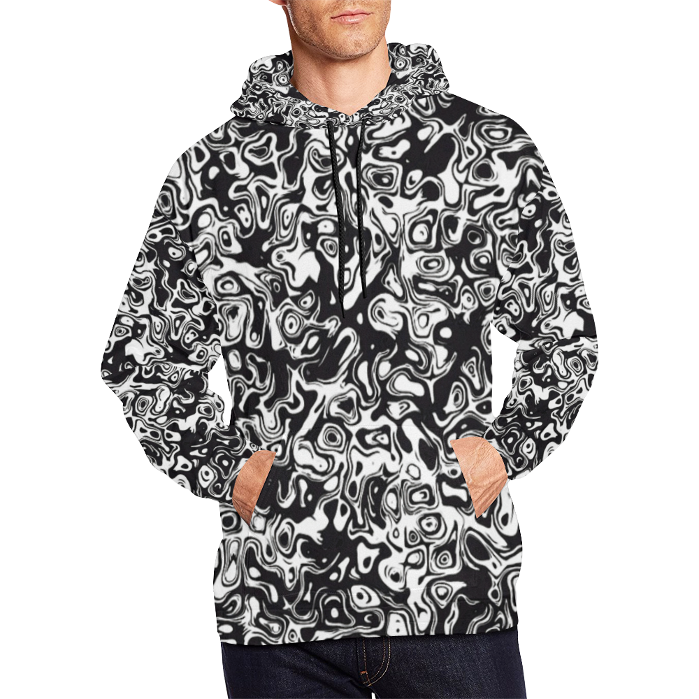 24sw All Over Print Hoodie for Men (USA Size) (Model H13)