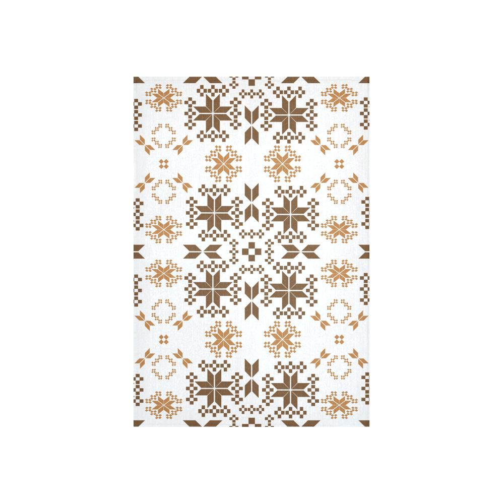 "Ethnic folk ornament Cotton Linen Wall Tapestry 40""x 60"""