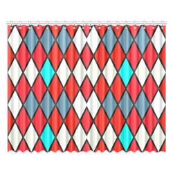 """harlequin 2 Window Curtain 52""""x84""""(Two Pieces)"""