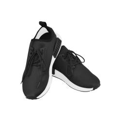 DUBL Black on Black kicks Men's Draco Running Shoes (Model 025)