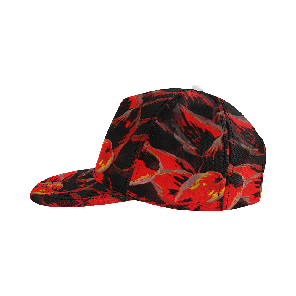 wheelVibe_vibe2 All Over Print Snapback Hat D